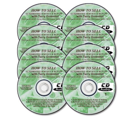 Automotivation CD Audio Sales Course