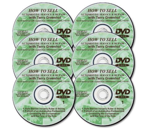 Automotivation DVD Video Sales Course